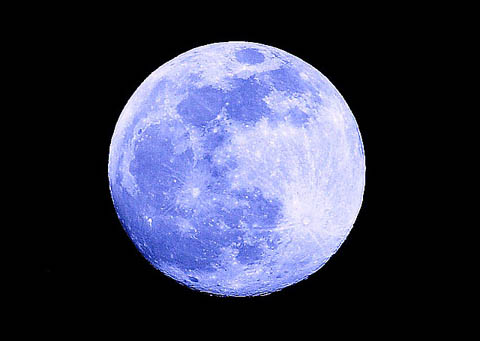 Интересные факты о Луне